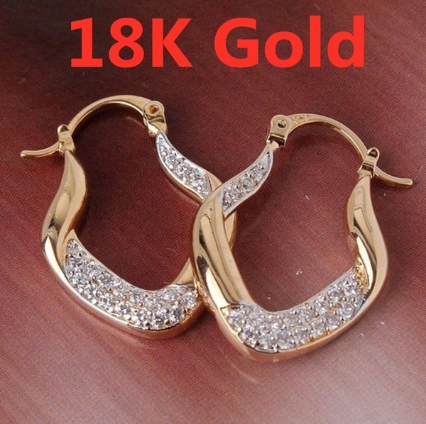 yellow gold, White Gold, Fashion Accessory, Hoop Earring