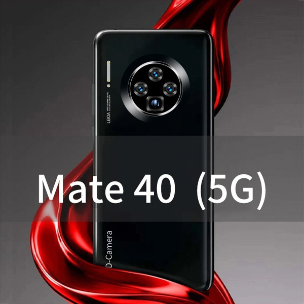 Mate 40 Pro 6 6 Inch Water Drop Screen Full Screen 12 512gb Mobile Phone 16 32mp Ultra High Definition Photography Support Face Id Fingerprint Recognition Unlock Phone Double Sim Card Bluetooth Wifi Mobile Smartphone 4g