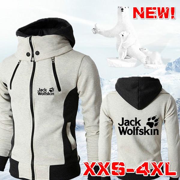 hoodiesformen, Outdoor, Winter, zipperjacket