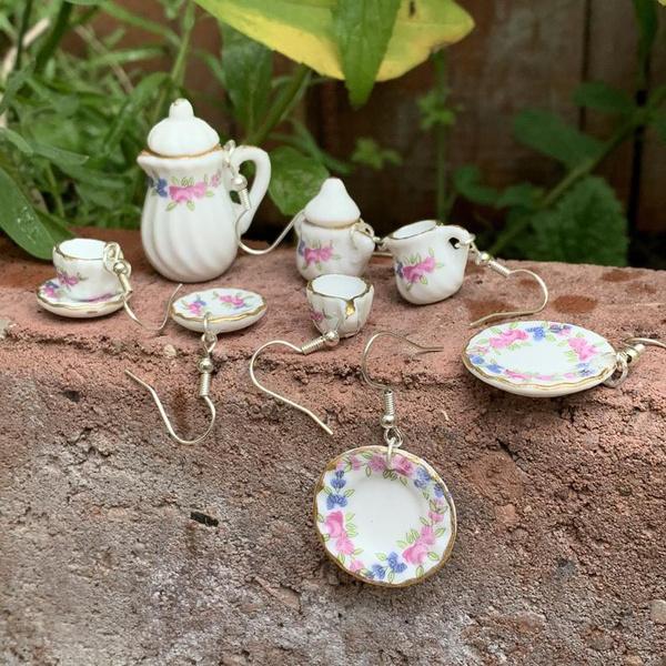 Punk jewelry, Dangle Earring, hippie, funnygift