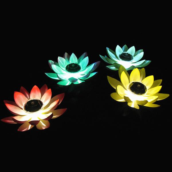 Flowers, decorationlightsoutdoor, Colorful, outdoorflowerlightssolarpowered
