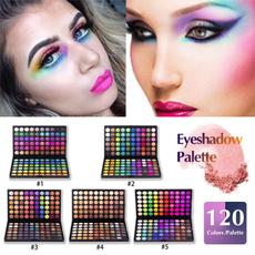 Palette, Set, eye, Colorful