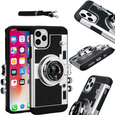 Mini, vintagecameraphone, Apple, Silicone