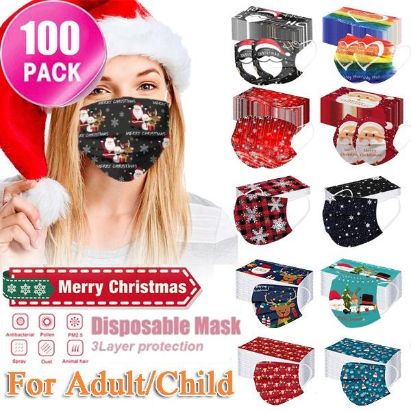 dustproofmask, childrenmask, christmasdecor, christmasmask