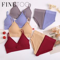 Cotton, 2pieceset, Underwear, Fashion