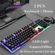 luminouskeyboard, led, glowingkeyboard, PC