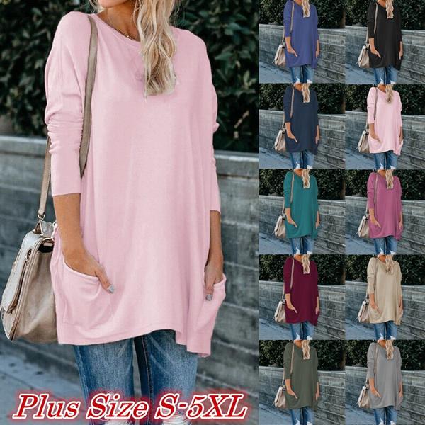 blouse, Women, Plus Size, tunic