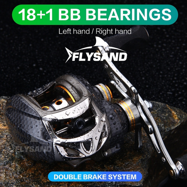 spinningreel, fishingrodreel, Aluminum, fishingreelsbaitcaster