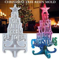 christmasmold, Christmas, Crystal, siliconemould