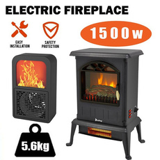 indoorfireplace, electricwarmheater, remotecontrolfireplace, Electric