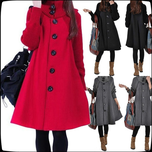 woolen coat, Bat, cardigan, Winter