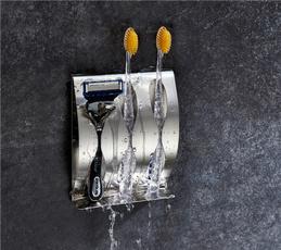 Steel, Bathroom, wallmounted, polished