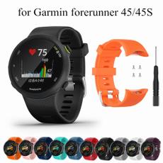 Bracelet, garminfinex45, siliconebandwatch, garminwatchband