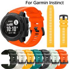 garminwatchband, 22mmsiliconestrap, siliconestrap, Silicone