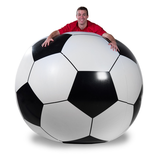 giant, Soccer, Inflatable, Ball