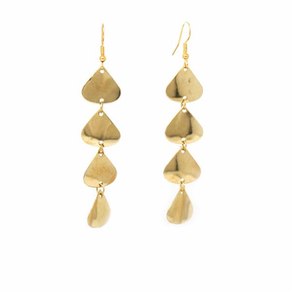 Brass, Earring, jewelryandwatche, Drop Earring