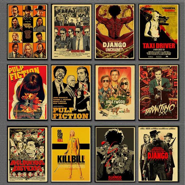 reservoirdogposter, Movie, pulpfictionposter, postermovie