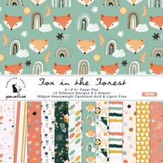 cute, Fox, paperpad, Handmade
