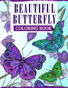 Beautiful, butterfly, beautifulbutterflycoloringbook, ornamentalgraphicdesign