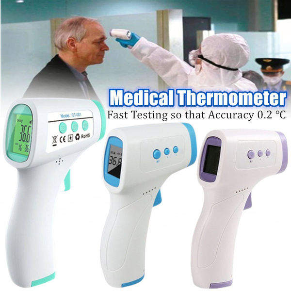 thermometerinfrared, Blues, purple, fevertester