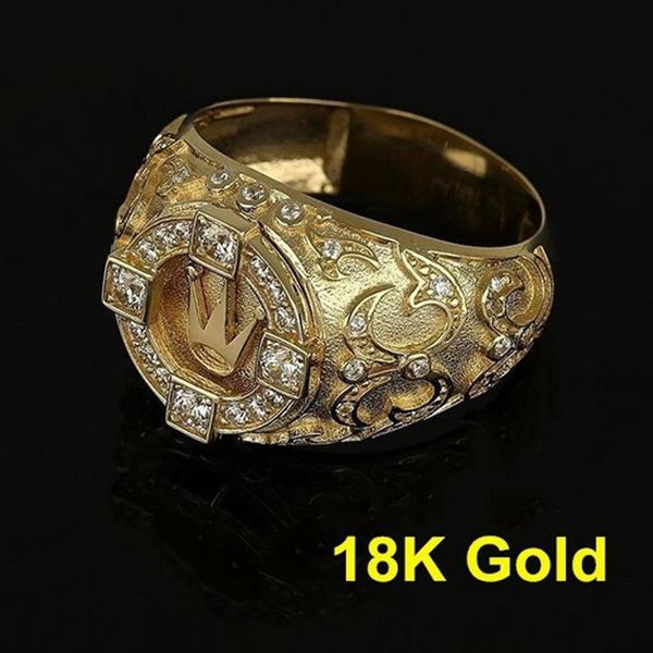 Men Jewelry, Fashion, wedding ring, gold