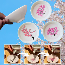 colorchangingcup, cherryblossom, Tea, Ceramic
