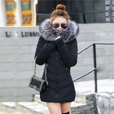 hooded, Invierno, Long Sleeve, Ropa