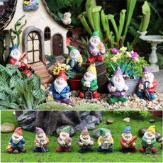 Outdoor, gnome, figure, gnomegarden