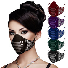 Goth, maskface, Cotton, punk
