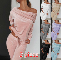 2pieceset, Fleece, Fashion, Yoga