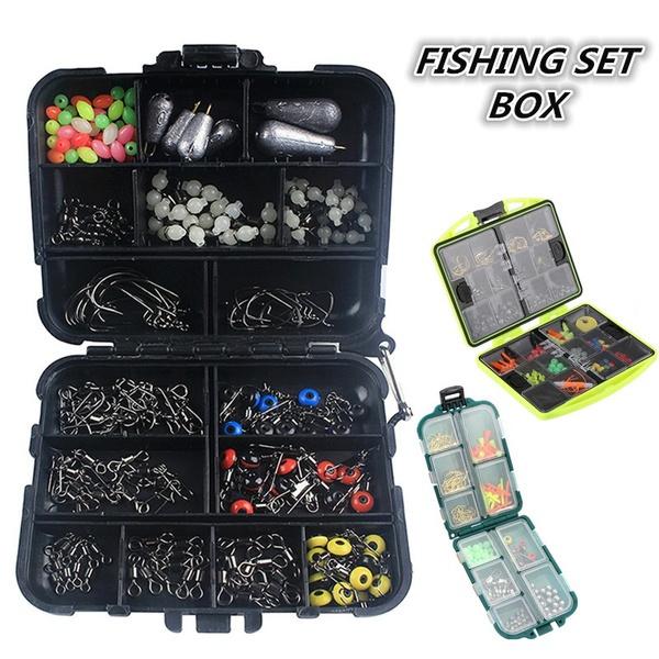 Box, fishingaccessorieskit, swivel, plummet