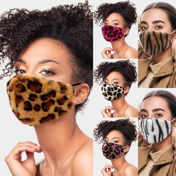 washable, fauxfurmask, Winter, animal print