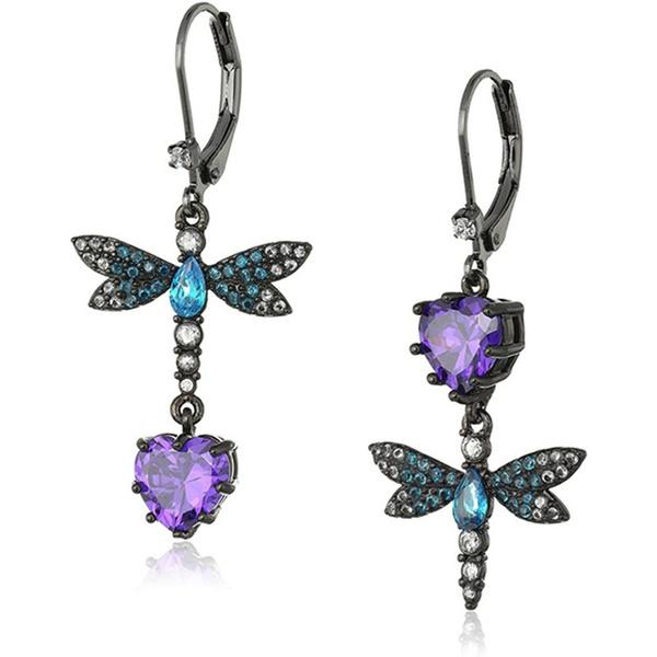 dragon fly, DIAMOND, Jewelry, Colorful