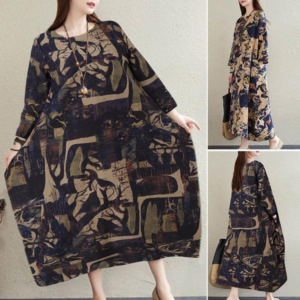 Plus Size, muslimdres, long dress, Dress