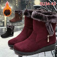Outdoor, fur, Winter, cottonboot