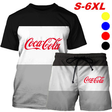 Mens T Shirt, Shorts, tshirtpantssuit, Two piece set