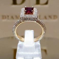 Beautiful, DIAMOND, wedding ring, gold