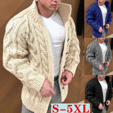 men coat, Plus Size, Winter, sweater coat