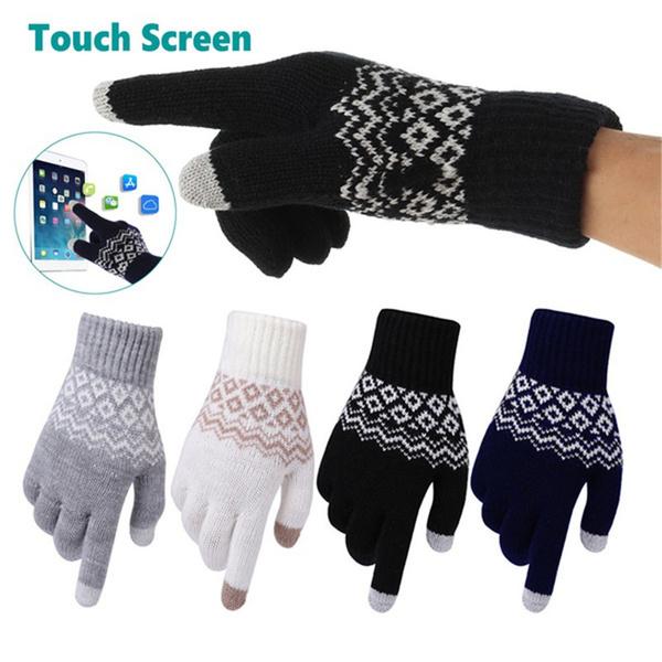 Touch Screen, Fashion, Winter, knittedglove