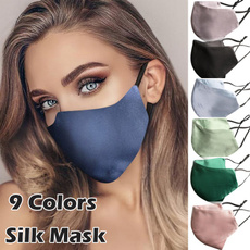 Summer, womenmask, blackmask, Pure Color
