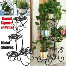 metalplantshelve, Plants, Outdoor, Gardening