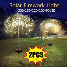 solarpoweredgardenlight, Lighting, Outdoor, fireworklight