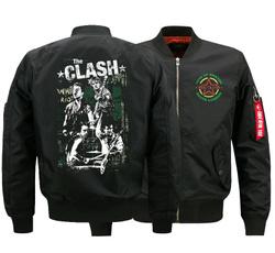 Plus Size, clash, theclash, bomberjacket