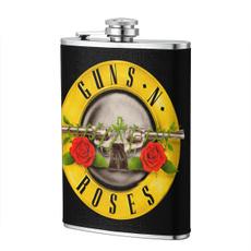 Alcohol, Flasks, Rose, Pot