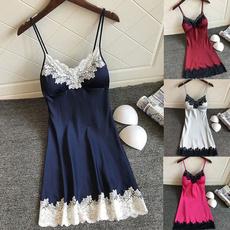night dress, Vest, Fashion, Lace