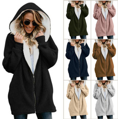 Casual Hoodie, Gel, pullover sweater, fluffy