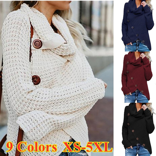 Plus Size, warmtop, Long sleeved, Sweaters