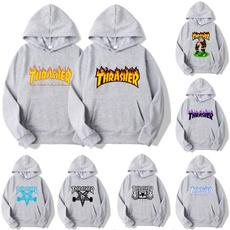 Fashion, pullover hoodie, thrasher, Fashion Hoodies