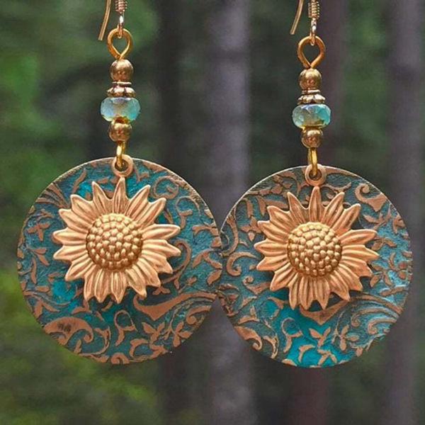ethnicearring, Vintage, Jewelry, vintage earrings