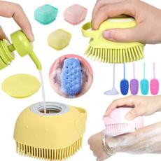 Shower, Bathroom Accessories, siliconebathbrush, Silicone
